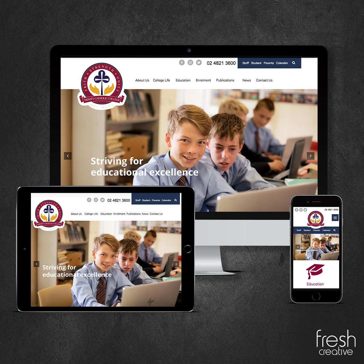 Trinity Website Design Canberra