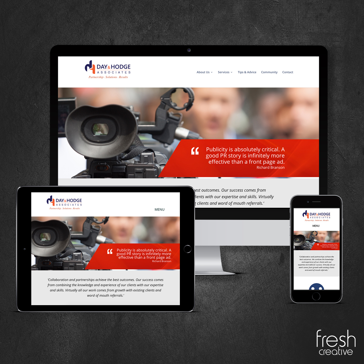 Day and Hodge Website Design Canberra
