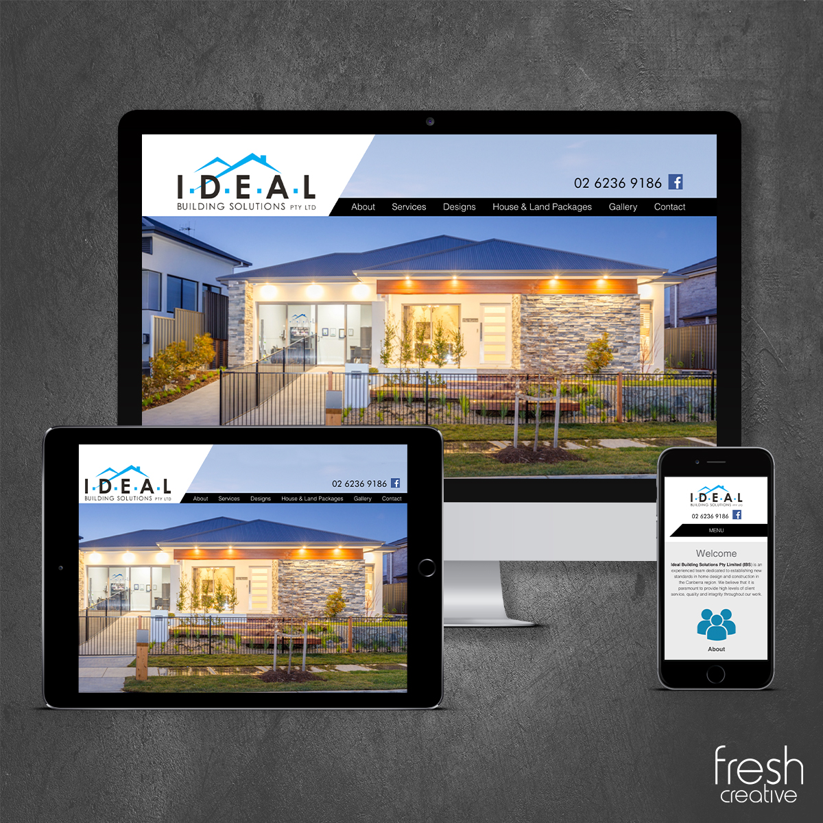 Ideal Building Solutions Website