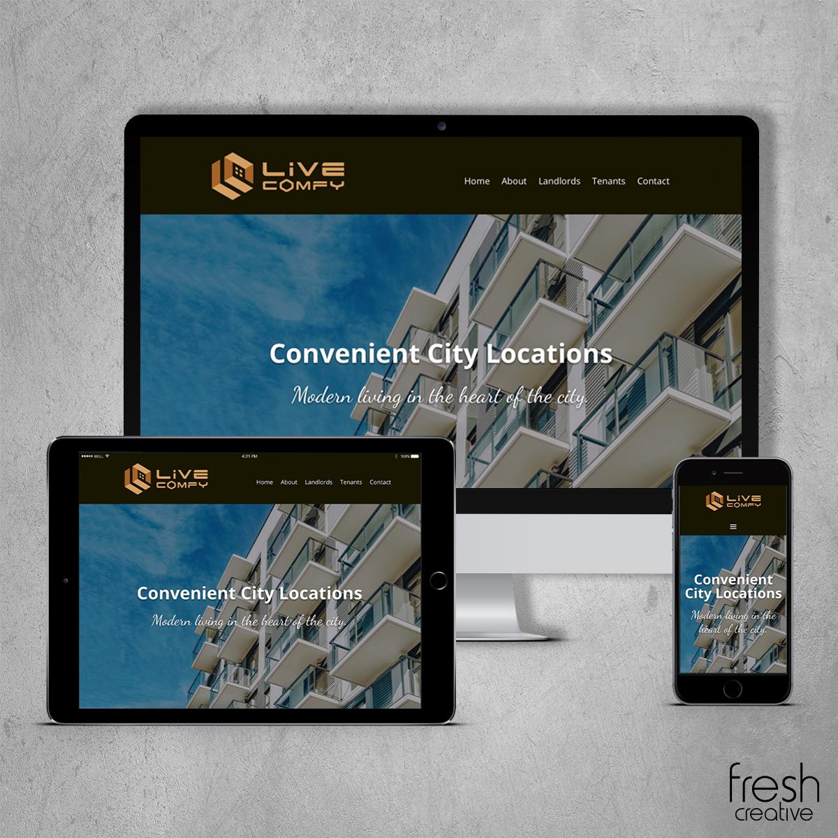 LiveComfy New Website Design