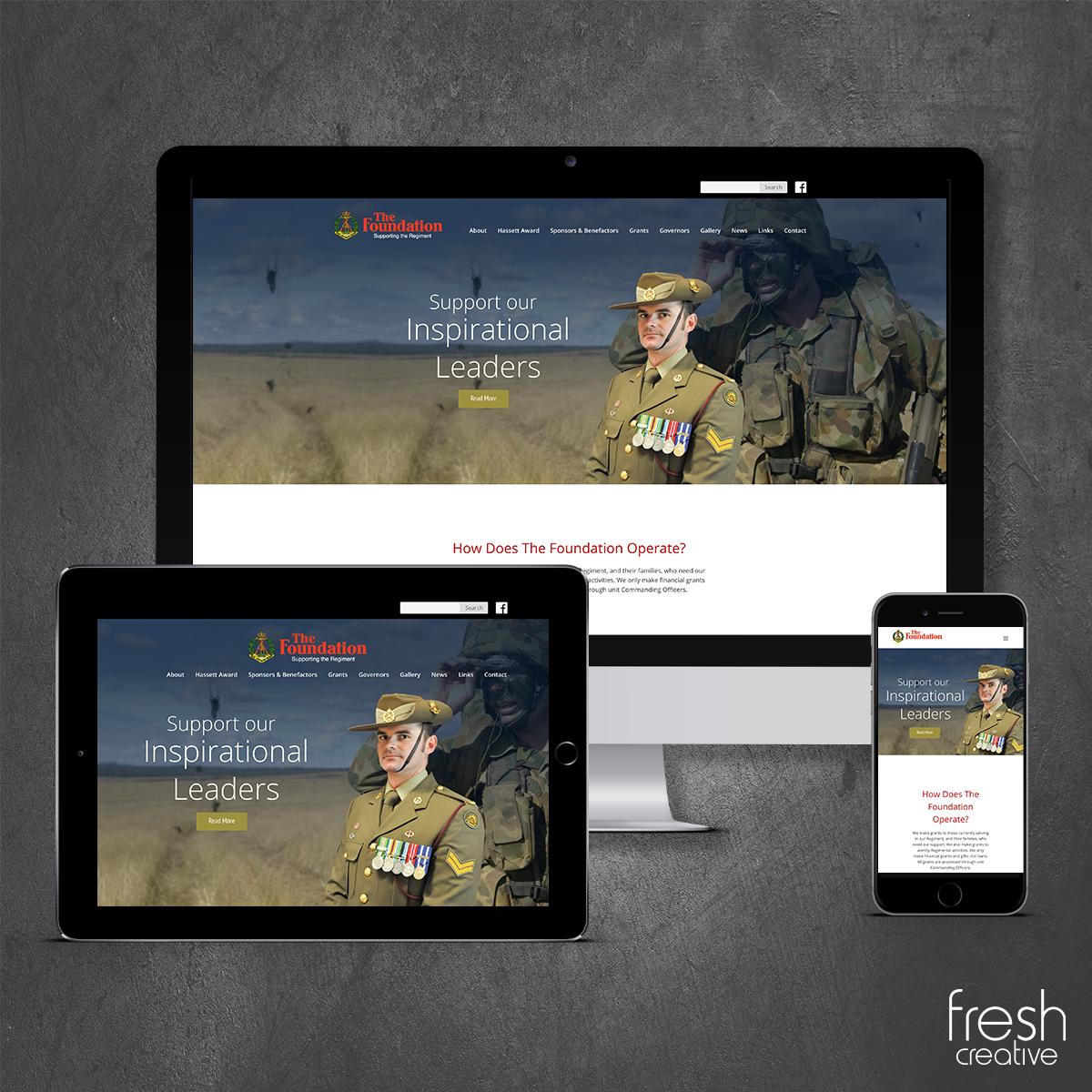 RAR Website Design Canberra
