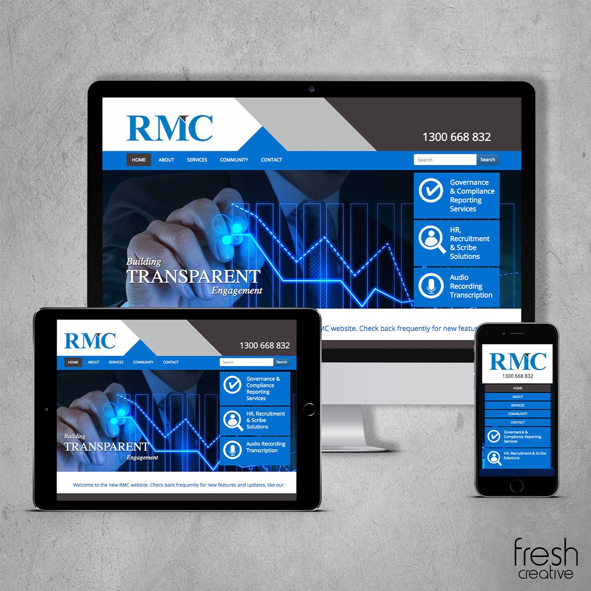 RMC New Website Design