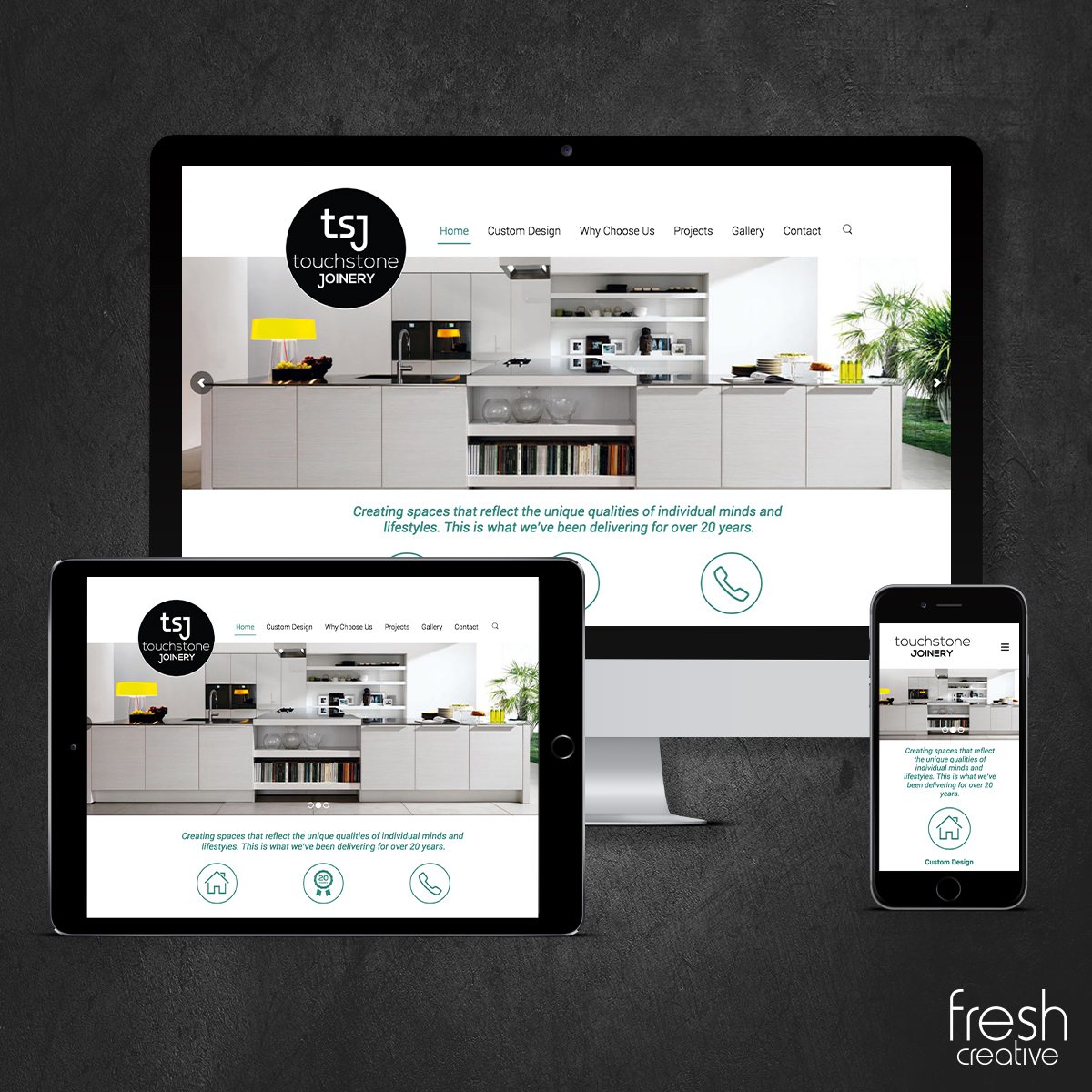 Touchstone Joinery New Website