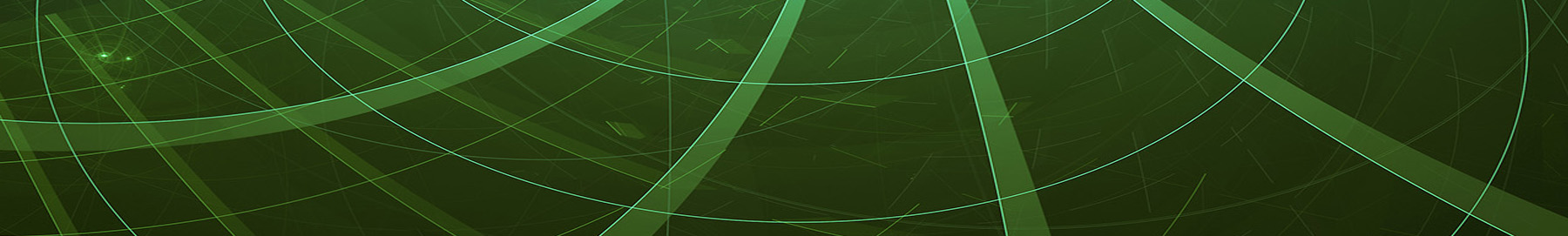 Abstract digitally generated green wavy background