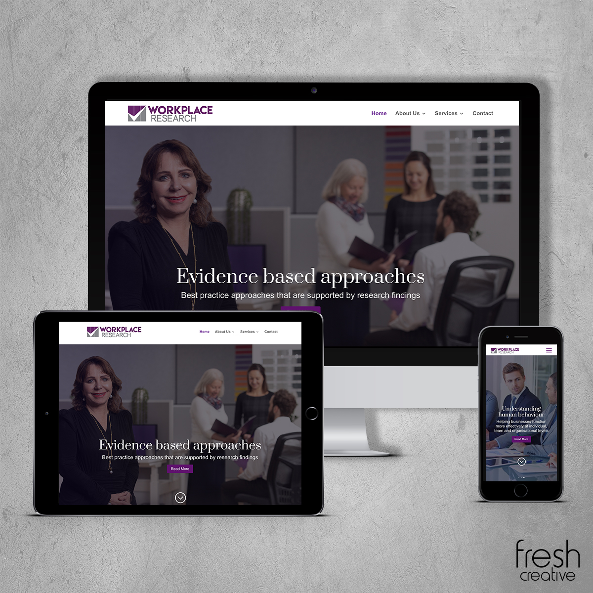 Workplace Research Website Design Canberra