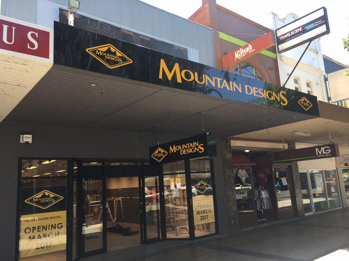 Custom Canberra Shopfront Design for Mountain Designs