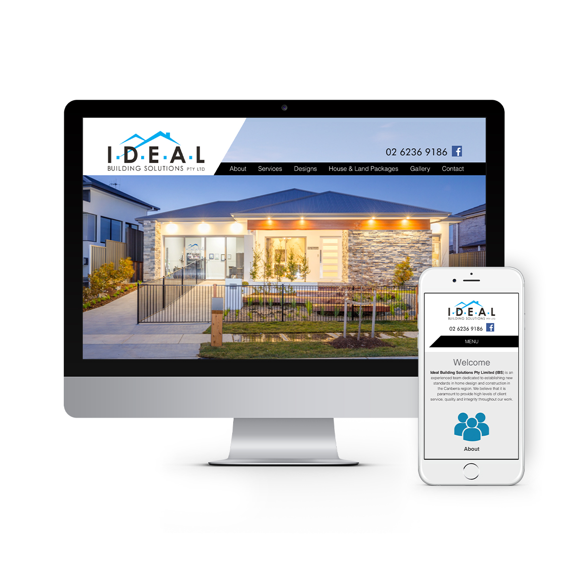Queanbeyan Websites Design Agency - Ideal Building Solutions