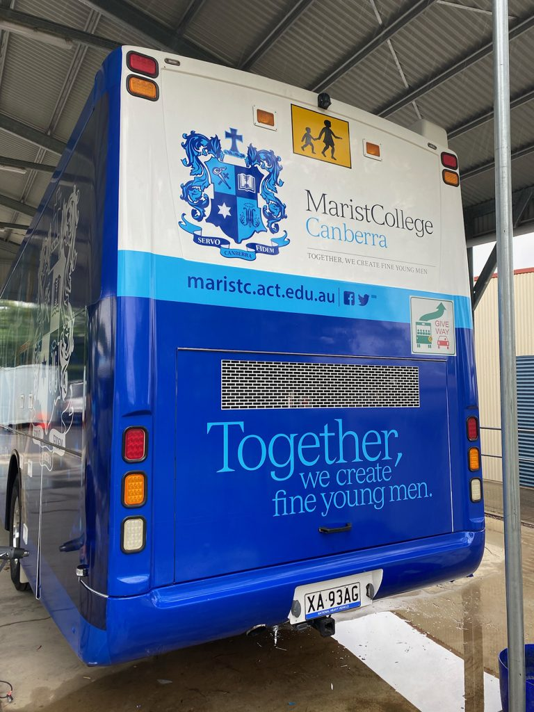 Canberra vehicle wrap, vehicle wrap specialists, bus wrap Canberra,