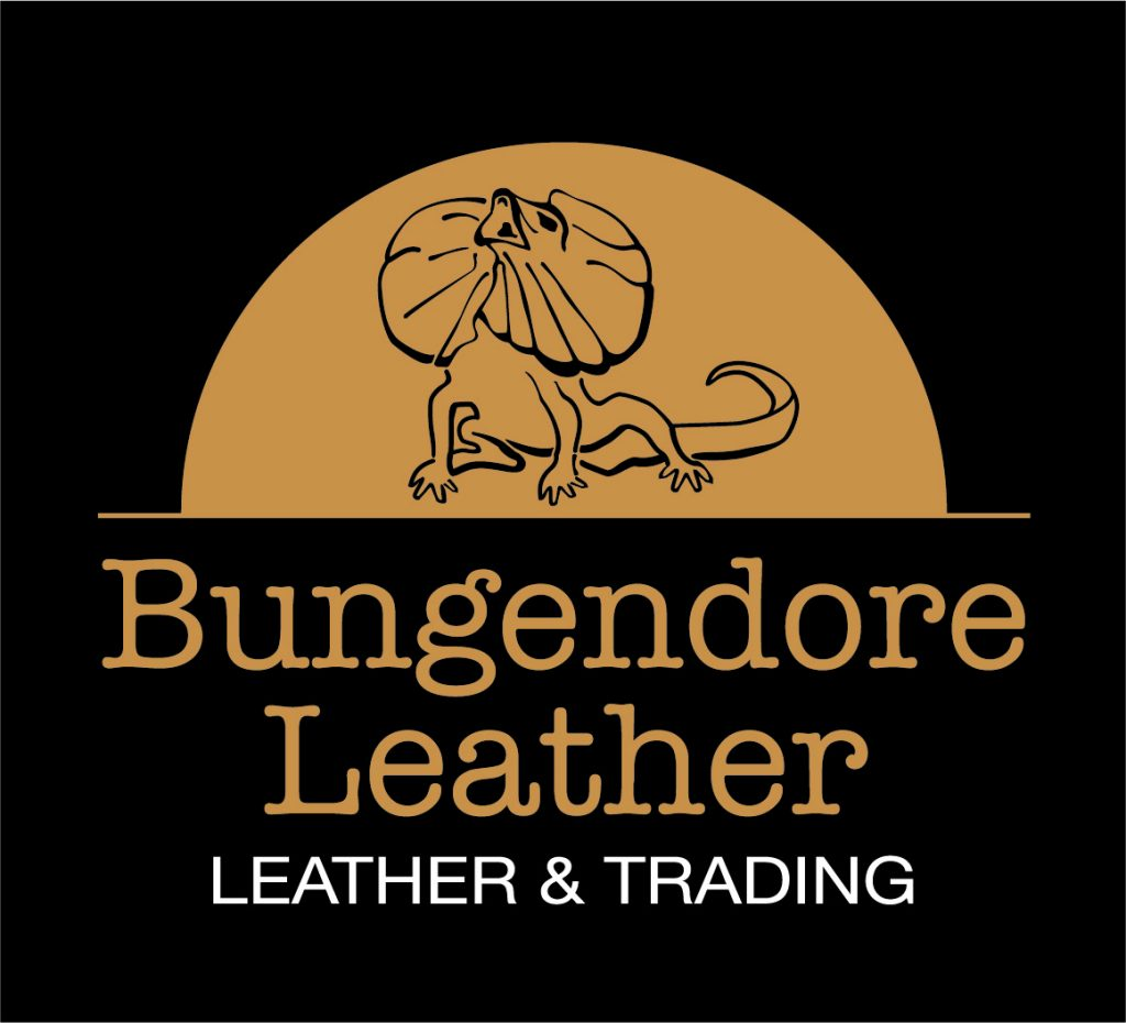 Refreshed brand logo for Bungendore Leather