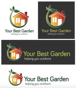 your best garden logo suite