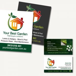 Your Best Garden Business Cards and Fridge Magnets