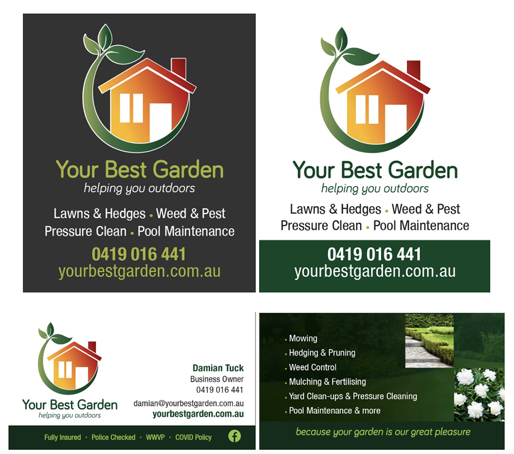your best garden fridge magnets and business cards