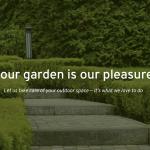 your best garden website banner