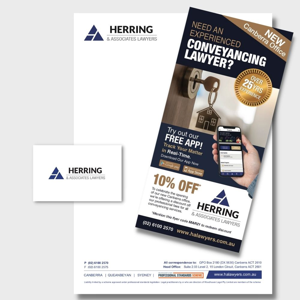 Herring and Associates Office Stationery 2020