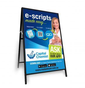 Capital Chemist E-Script A -Frame
